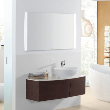 Мебель для ванной Villeroy & Boch Aveo new generation 130 dark oak